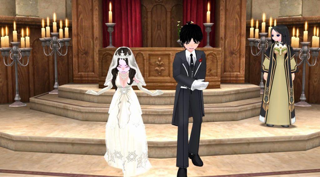 【マビノギ1分映画】結婚式潜入大作戦【メイキングや裏話など】